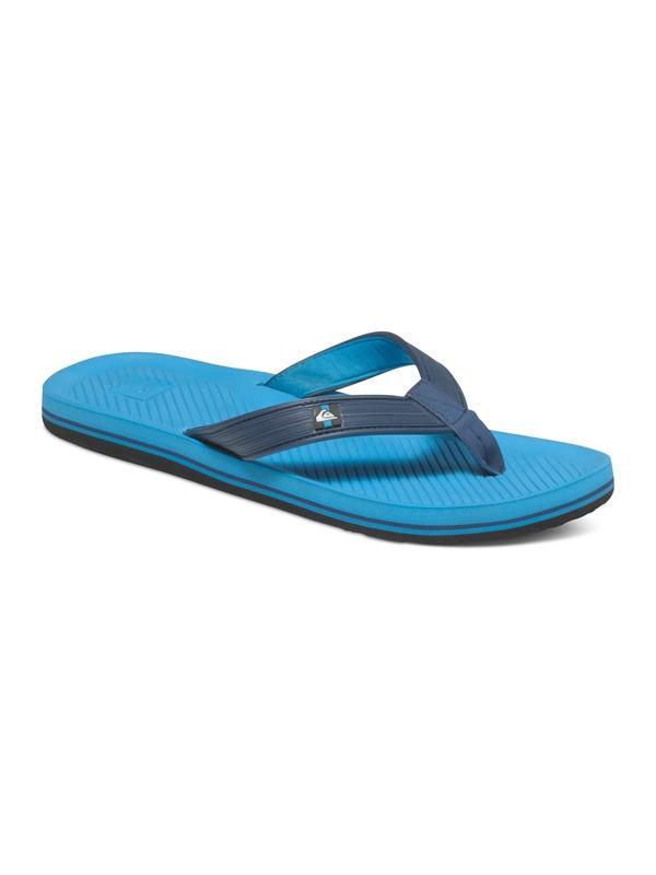 0 Haleiwa Deluxe - Tongs Bleu AQYL100228 Quiksilver