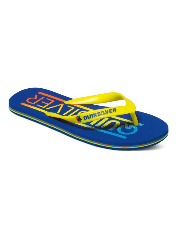 0 Molokai Wordmark - Tongs Bleu AQYL100232 Quiksilver