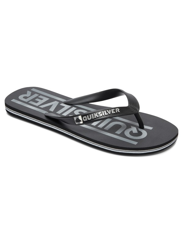 0 Molokai Wordmark - Slippers Black AQYL100232 Quiksilver