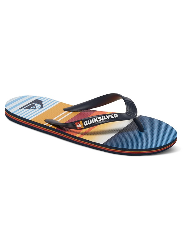 0 Molokai Everyday Stripe - Infradito Blue AQYL100234 Quiksilver