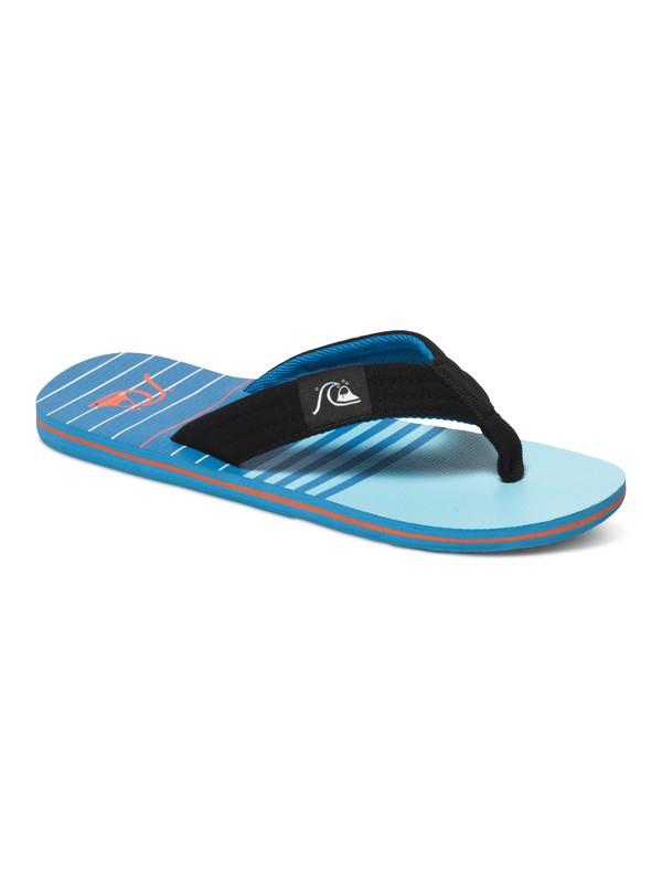 0 Molokai Layback - Chanclas Azul AQYL100236 Quiksilver