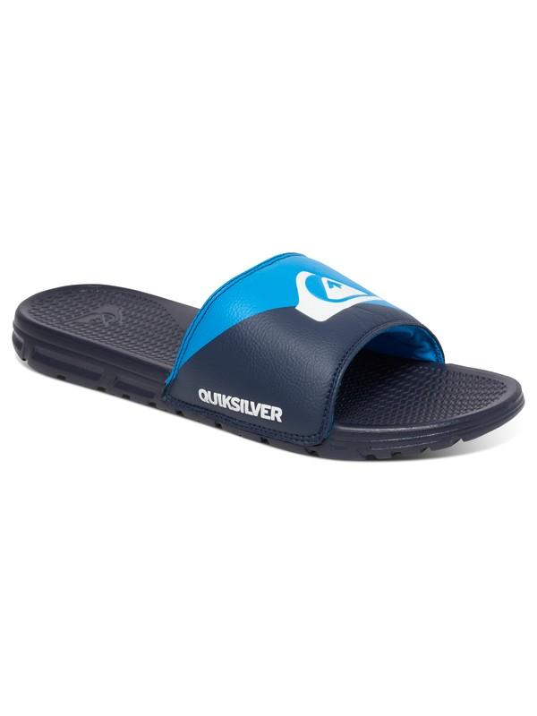 0 Shoreline Print - Slide Sandals  AQYL100275 Quiksilver