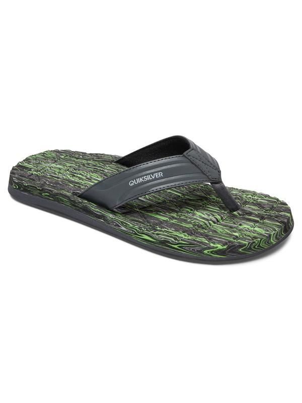 0 Monkey Texture Sandals  AQYL100370 Quiksilver