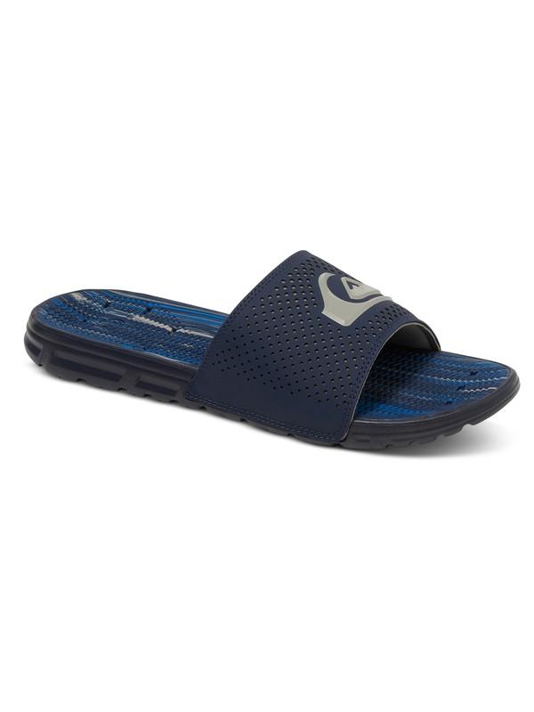 0 Amphibian Slide Sandal Blue AQYL100404 Quiksilver