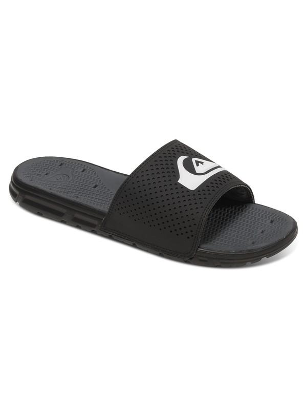 0 Amphibian Slide Sandal Black AQYL100404 Quiksilver