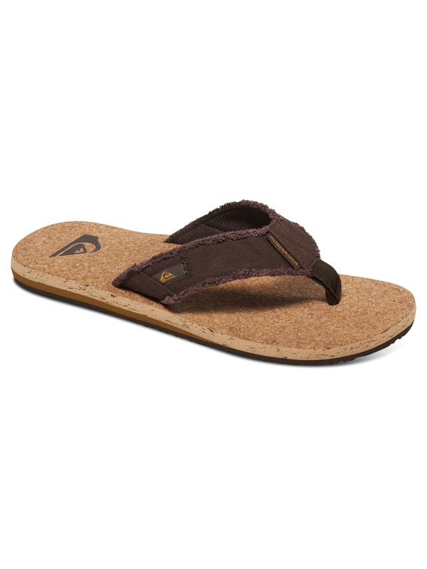 0 Monkey Abyss Cork - Tongs Marron AQYL100405 Quiksilver