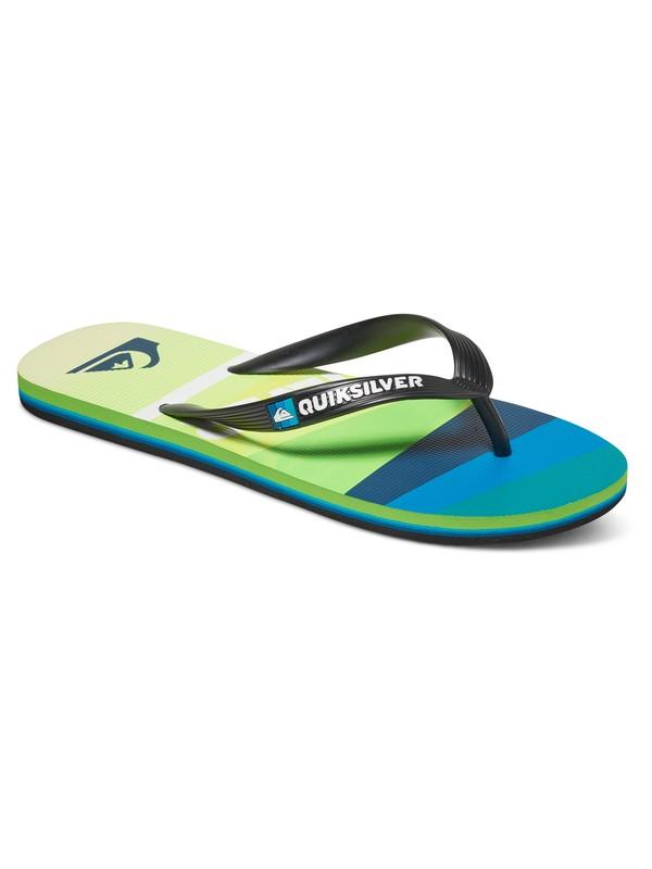 0 Molokai Slash Logo - Flip-Flops Black AQYL100408 Quiksilver