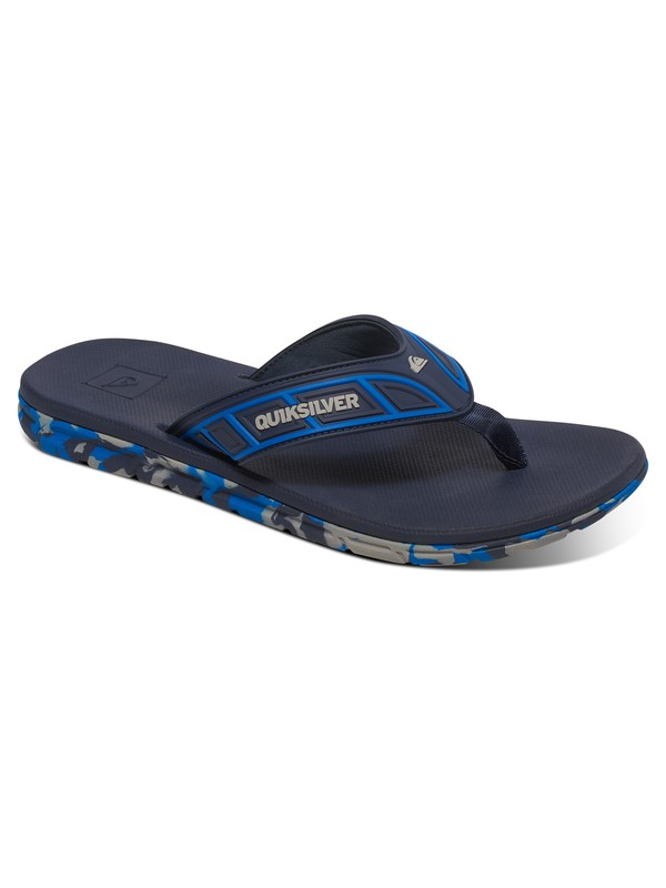 0 Flow - Tongs Bleu AQYL100411 Quiksilver