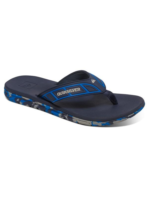 0 Flow - Flip-Flops Blue AQYL100411 Quiksilver