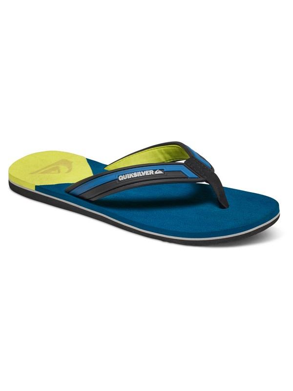 0 Molokai New Wave Deluxe - Tongs Bleu AQYL100413 Quiksilver