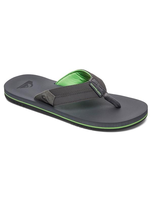 0 Coastal Oasis - Sandals Grey AQYL100442 Quiksilver
