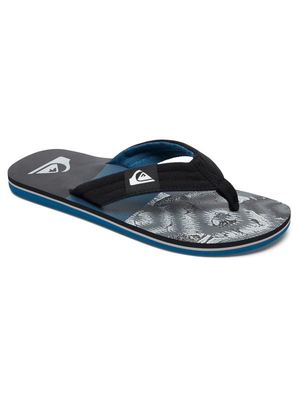 0 Molokai Layback Sandals Black AQYL100483 Quiksilver