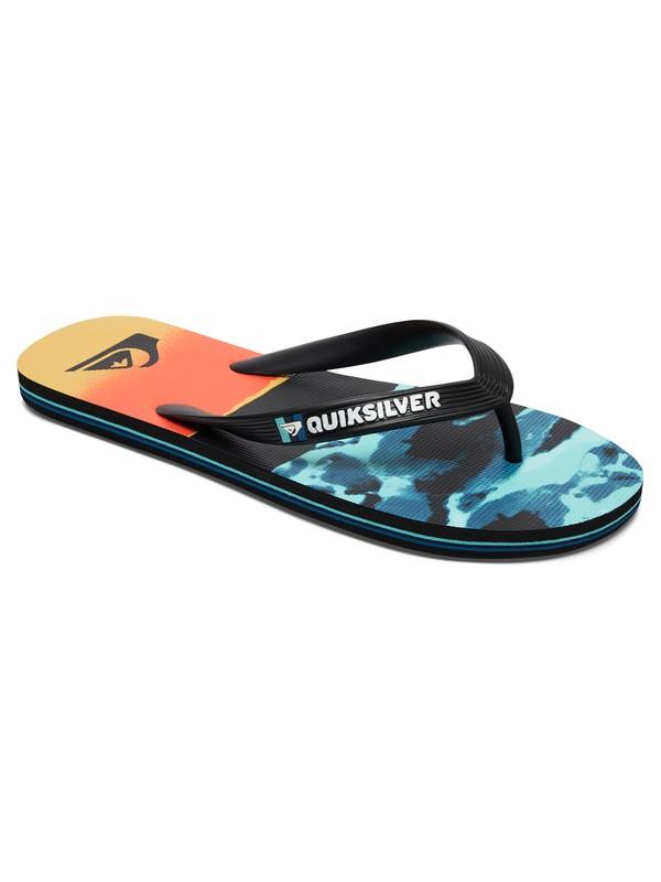 0 Molokai Resin Camo Sandals  AQYL100484 Quiksilver