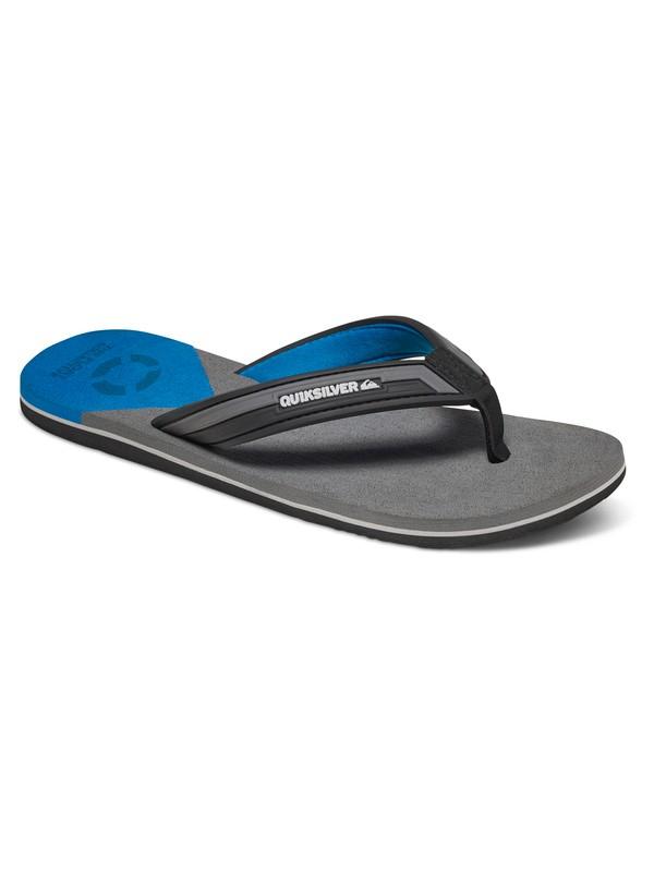 0 Molokai New Wave Deluxe Float - Sandals Black AQYL100521 Quiksilver