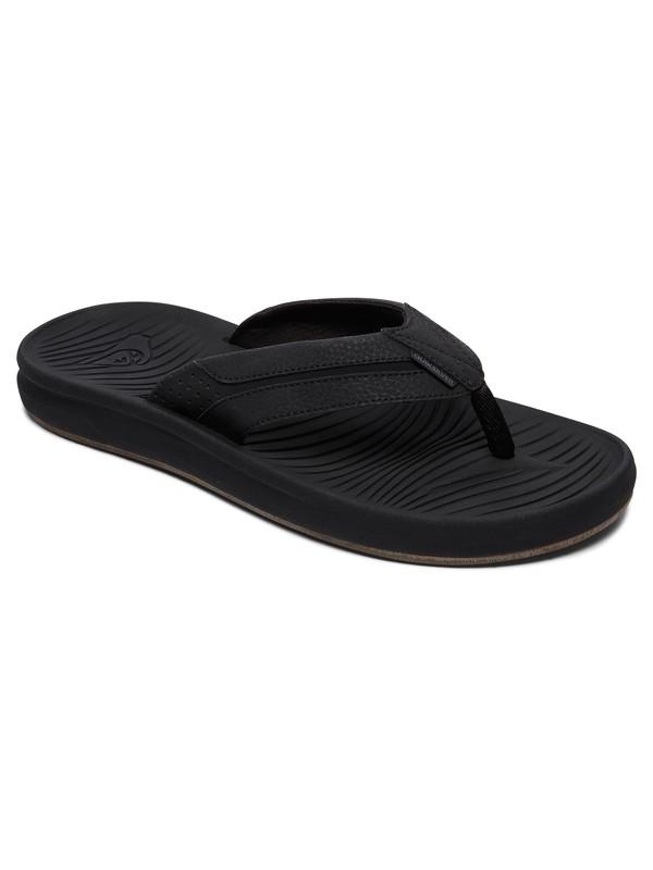 0 Travel Oasis Sandals Black AQYL100543 Quiksilver