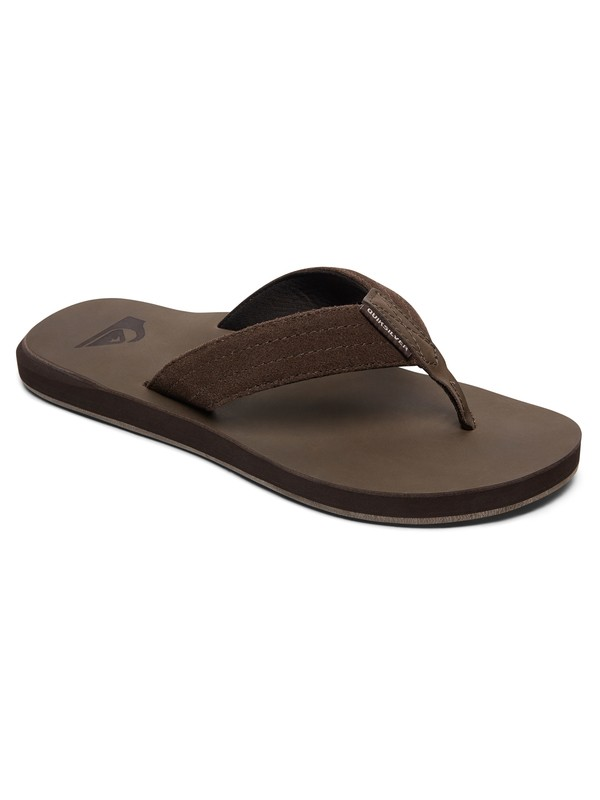 0 Carver - Sandals Brown AQYL100544 Quiksilver