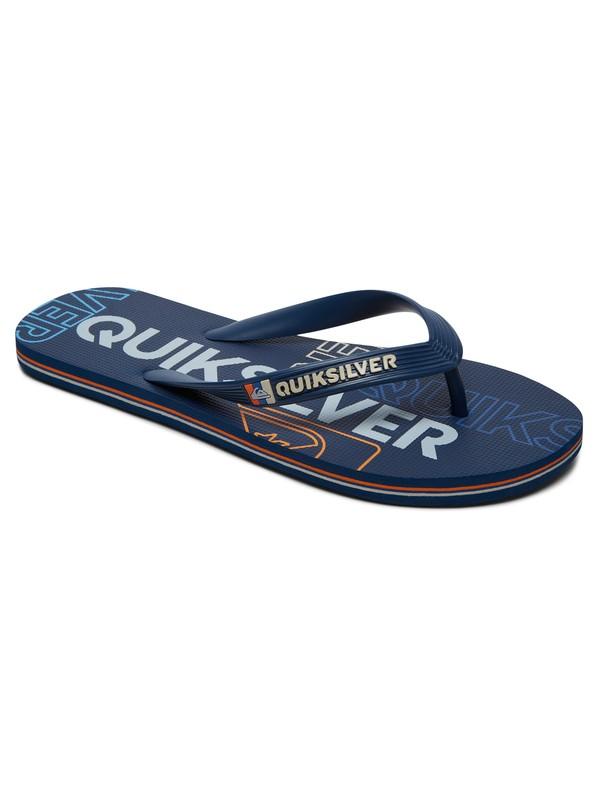 0 Molokai Nitro - Tongs Bleu AQYL100562 Quiksilver