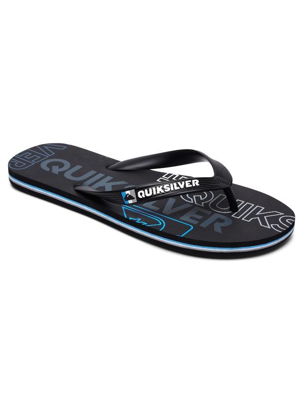 0 Molokai Nitro Sandals Black AQYL100562 Quiksilver