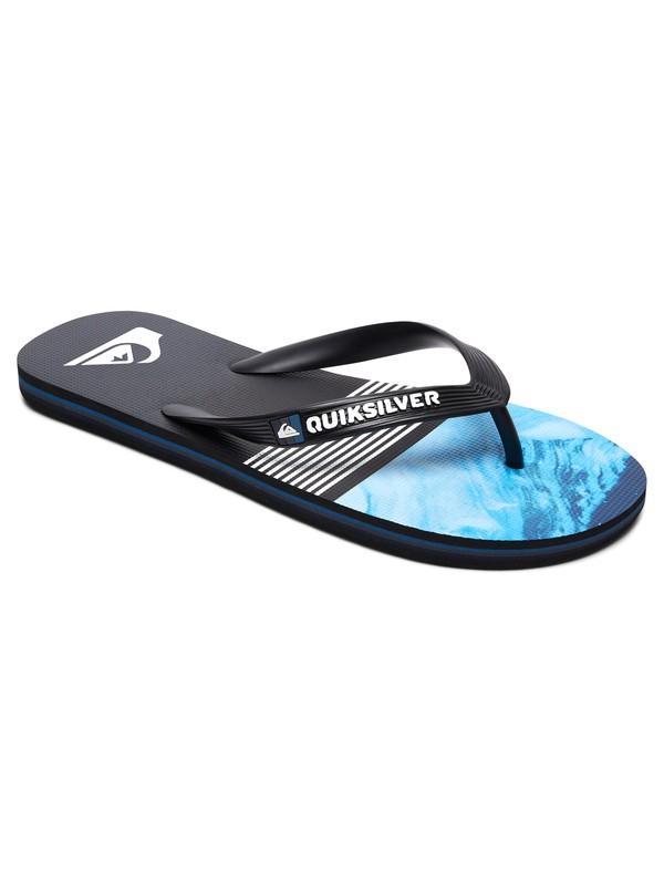 0 Molokai Lava Division Sandals Black AQYL100563 Quiksilver