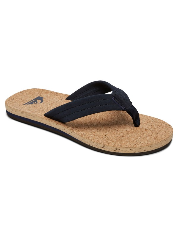 0 Carver Cork Sandals Blue AQYL100597 Quiksilver