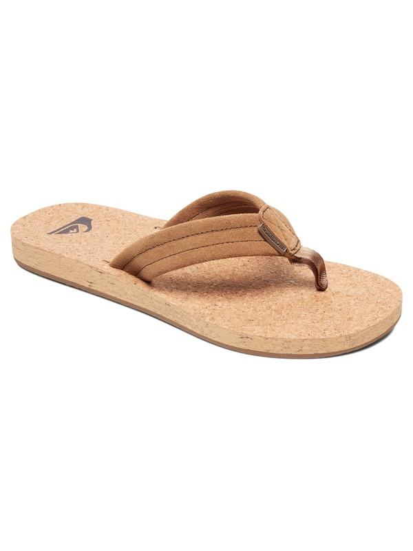 0 Carver Cork Sandals Brown AQYL100597 Quiksilver