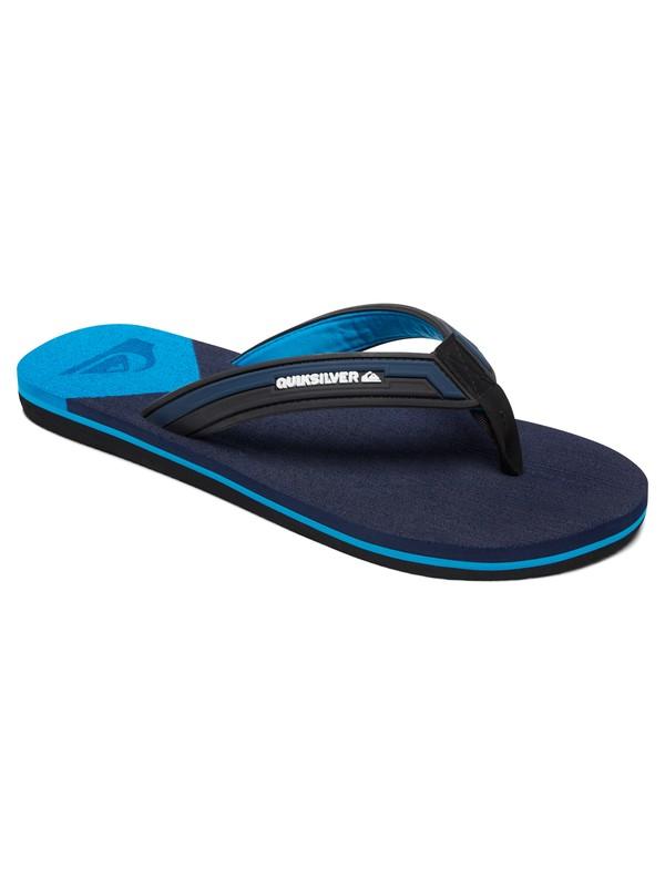 0 Molokai Deluxe Sandals Black AQYL100636 Quiksilver