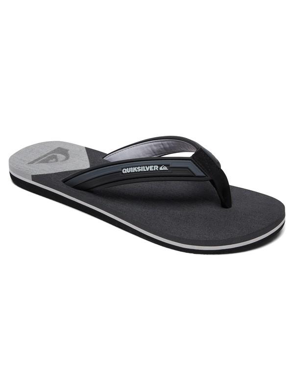 0 Molokai Deluxe Sandals Grey AQYL100636 Quiksilver