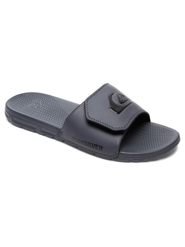 0 Shoreline Adjust Slider Sandals Grey AQYL100638 Quiksilver
