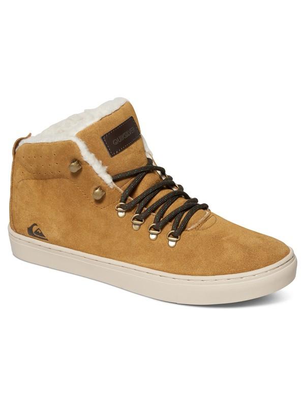 0 Jax - Chaussures mi-Hautes Marron AQYS100014 Quiksilver