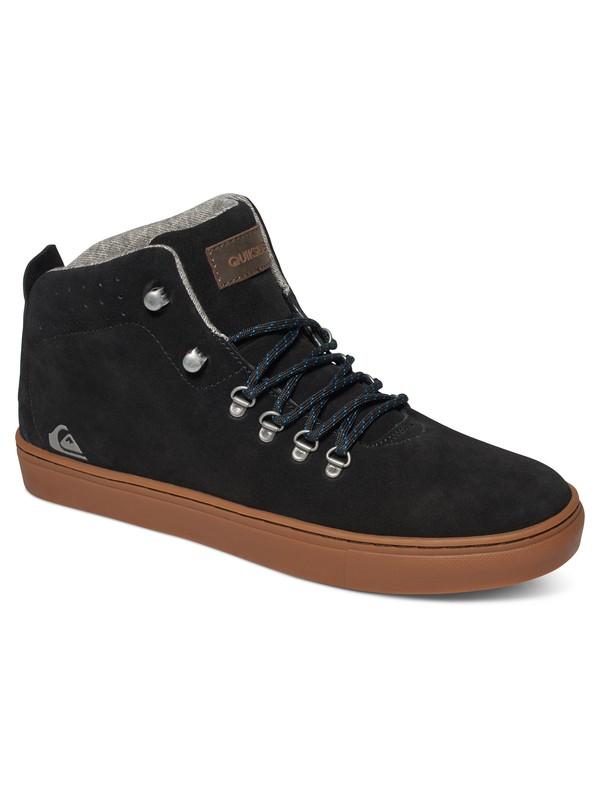 0 Jax - Chaussures mi-Hautes Noir AQYS100014 Quiksilver