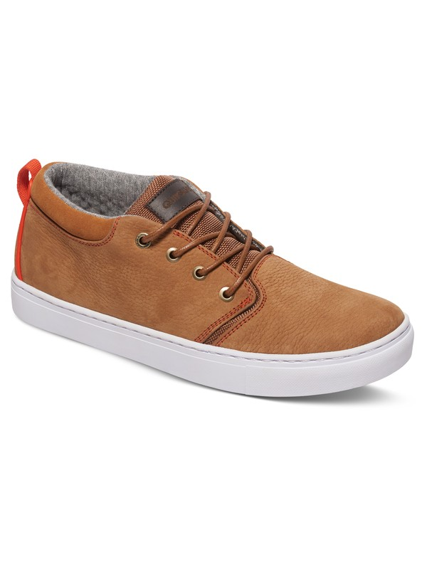 0 Griffin - Mid-Top Shoes Brown AQYS100020 Quiksilver