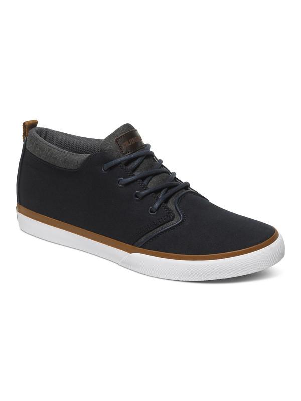 0 Griffin Canvas - Chaussures mi-hautes Bleu AQYS300025 Quiksilver