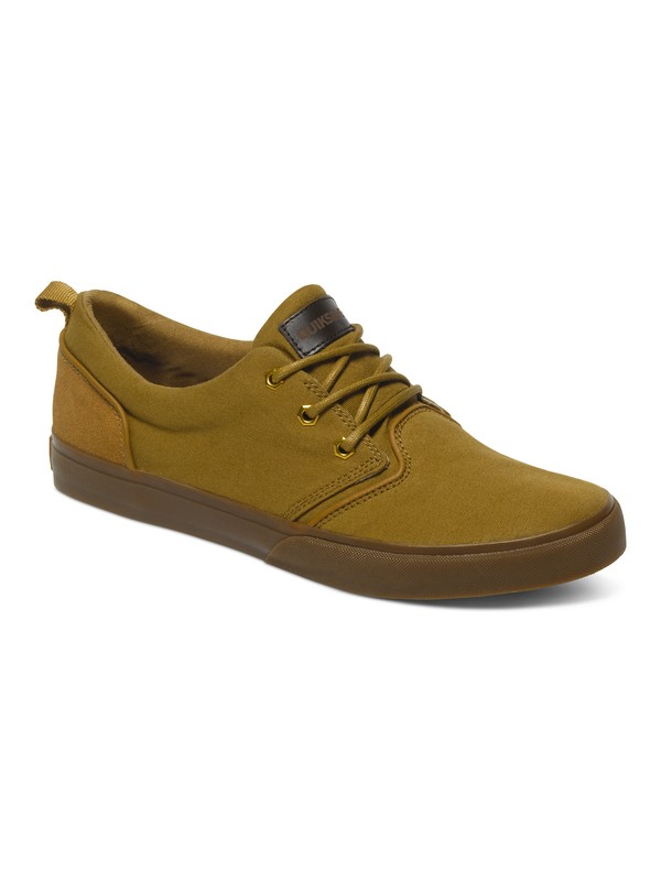 0 Griffin Canvas - Chaussures basses Beige AQYS300026 Quiksilver