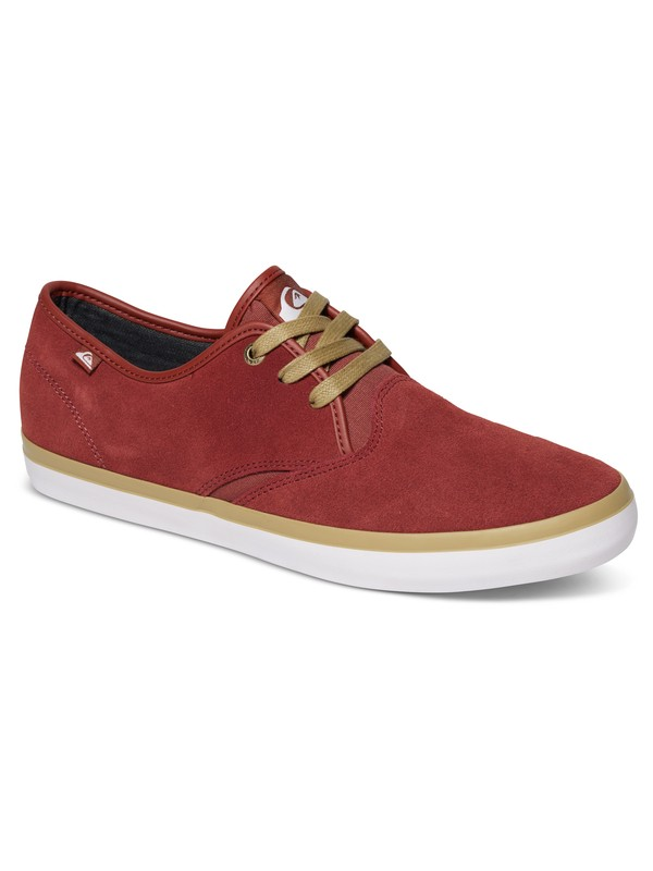 0 Shorebreak - Chaussures en daim Rouge AQYS300028 Quiksilver
