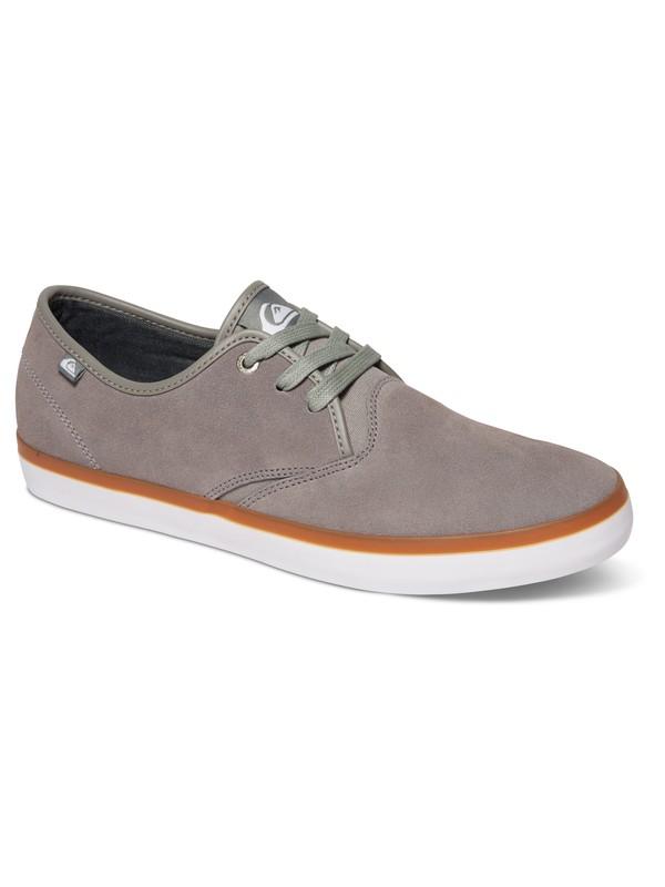0 Shorebreak - Chaussures en daim Gris AQYS300028 Quiksilver