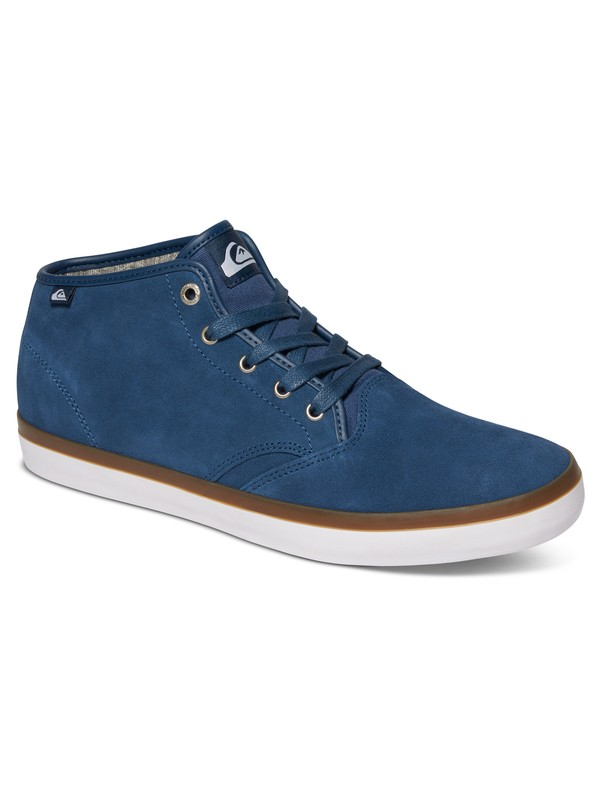 0 Shorebreak - Suede Mid-Top Shoes Blue AQYS300030 Quiksilver