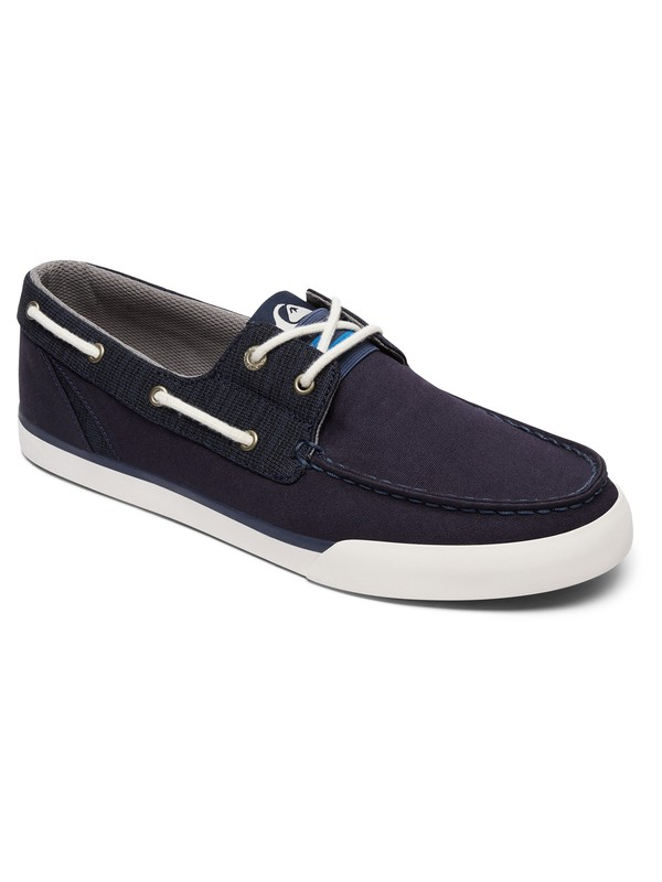 0 Spar - Deck Shoes Blue AQYS300052 Quiksilver