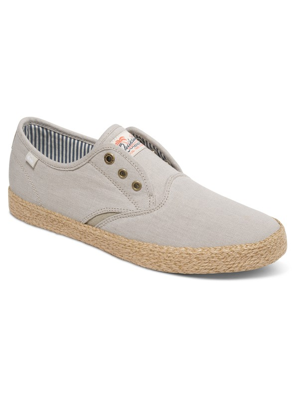 0 Shorebreak Deluxe - Chaussures slip-On Beige AQYS300054 Quiksilver
