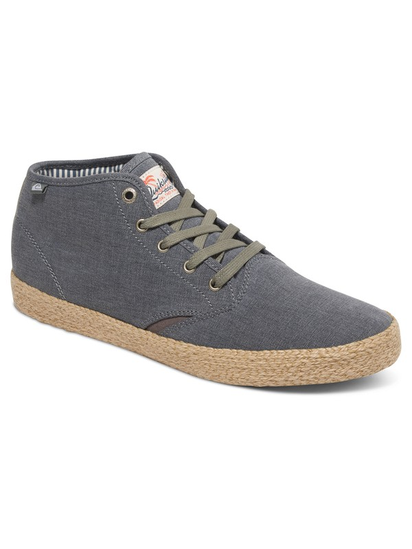 0 Shorebreak - Mid-Top Shoes Gray AQYS300055 Quiksilver