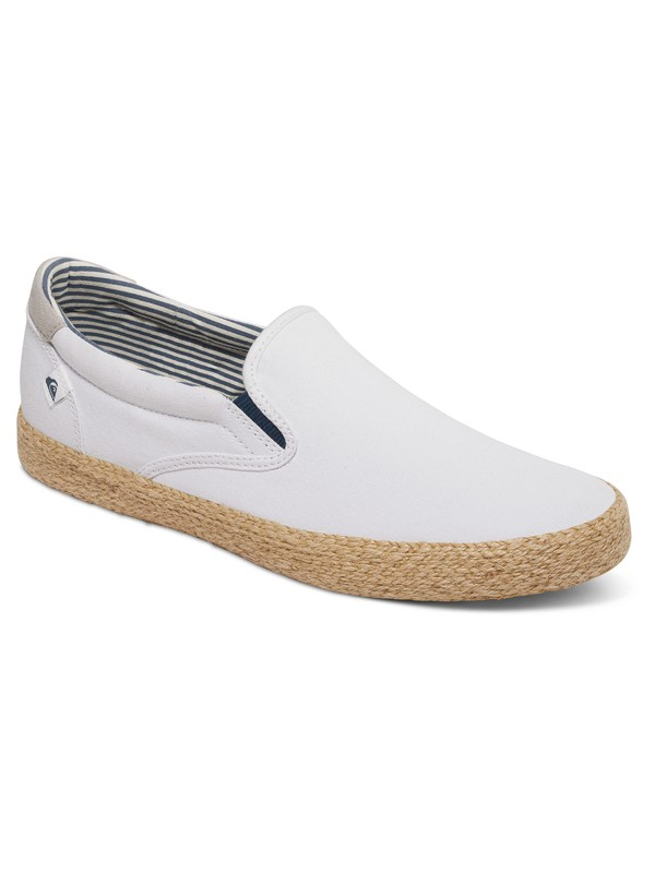0 Shorebreak - Chaussures slip-On Blanc AQYS300056 Quiksilver