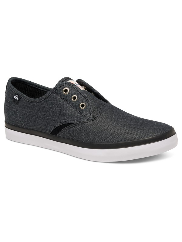 0 Shorebreak Deluxe - Laceable Slip-On Shoes Black AQYS300061 Quiksilver