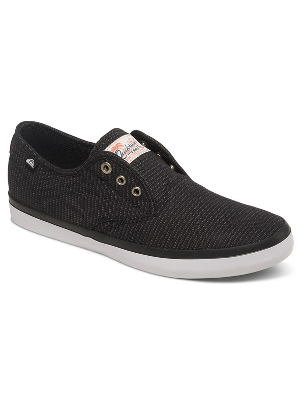 0 Shorebreak Deluxe - Laceable Slip-On Shoes Grey AQYS300061 Quiksilver