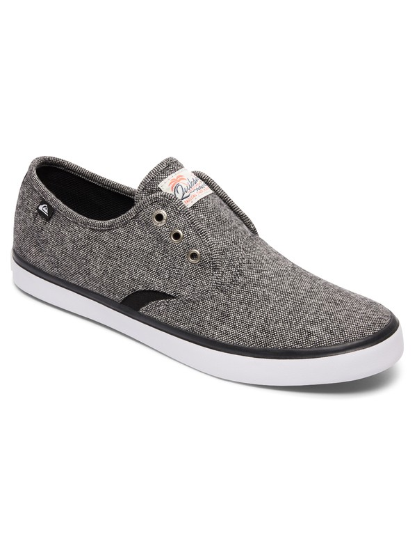 0 Shorebreak Deluxe - Slip-on schoenen met veters Gray AQYS300061 Quiksilver