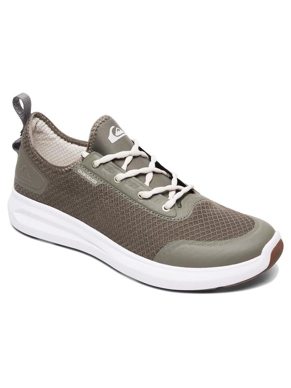 0 Layover Travel - Zapatos Verde AQYS700043 Quiksilver