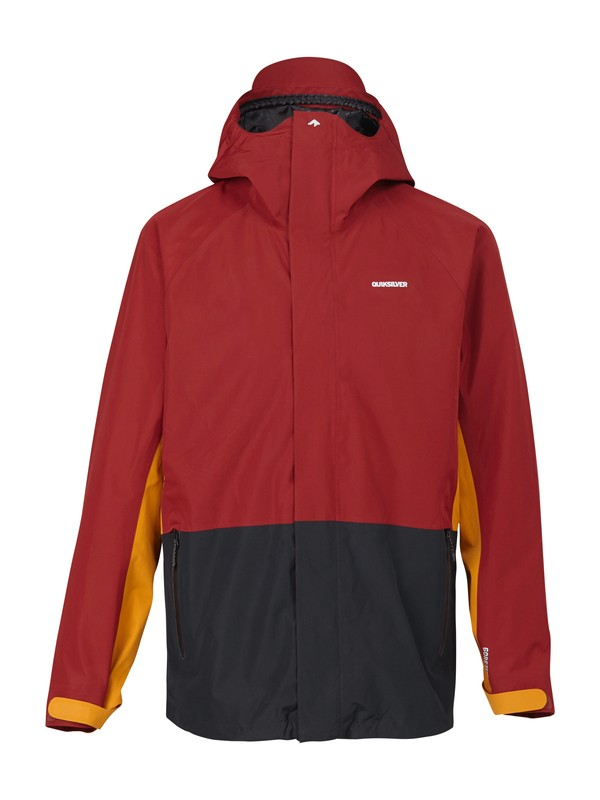 0 Forever GORE-TEX® Jacket Red AQYTJ00033 Quiksilver