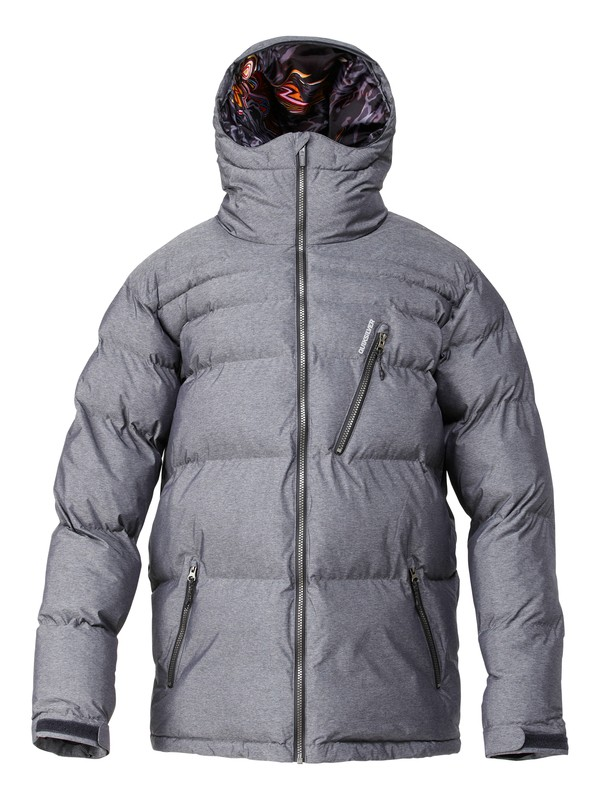 0 Travis Rice Polar Pillow 15K Jacket Black AQYTJ00037 Quiksilver