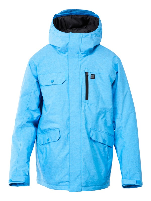 0 Craft 10K Jacket Blue AQYTJ00043 Quiksilver