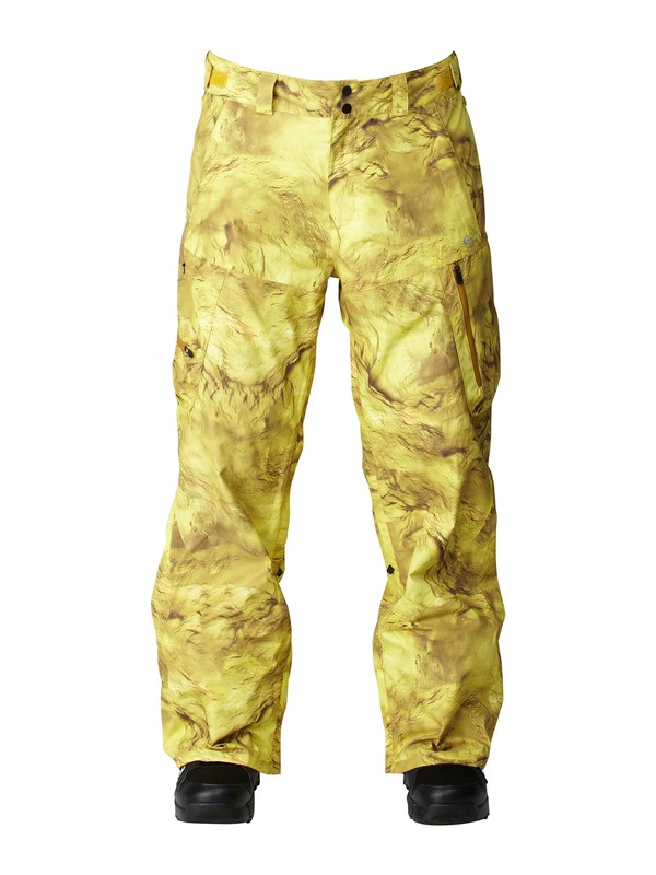 0 Travis Rice North Pass Gore-Tex 15K Shell Pants Yellow AQYTP00002 Quiksilver