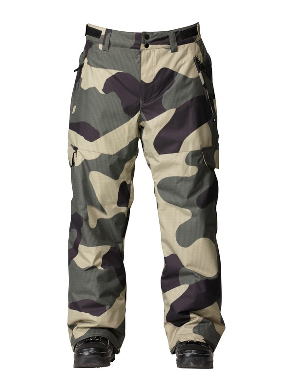 0 Portland 10K Insulated Pants  AQYTP00008 Quiksilver