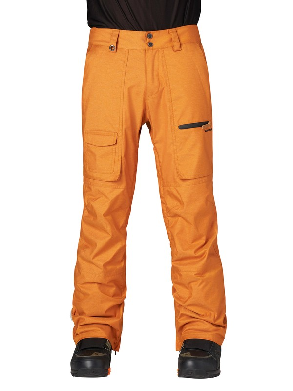 0 Dark And Stormy 15K Pants Orange AQYTP00019 Quiksilver